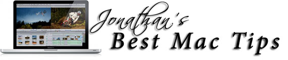 Jonathan's Best Mac Tips Logo