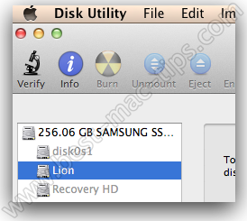 Disk utility 2 1