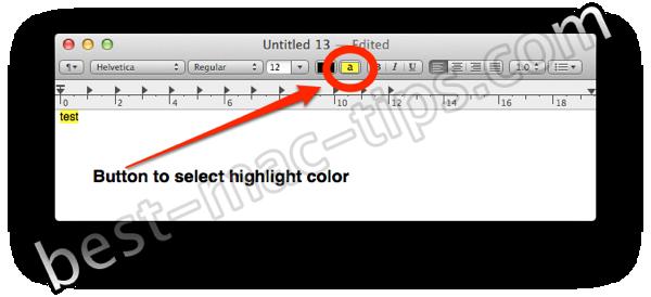 Textedit highlighter