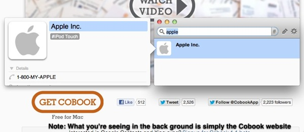 Best Apple Address Book alternative