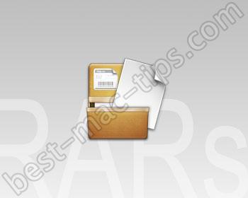 Extract RAR files on Mac OS X